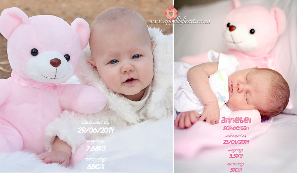 at 9 days new and again at 5 months*