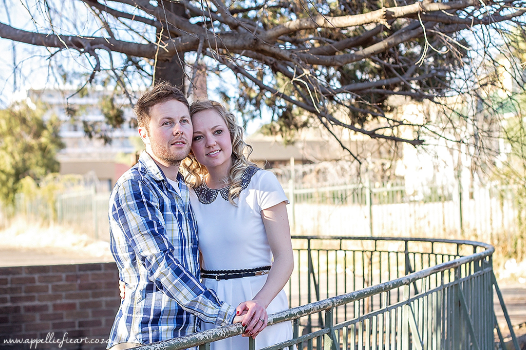 Bloemfontein city Engagement Session