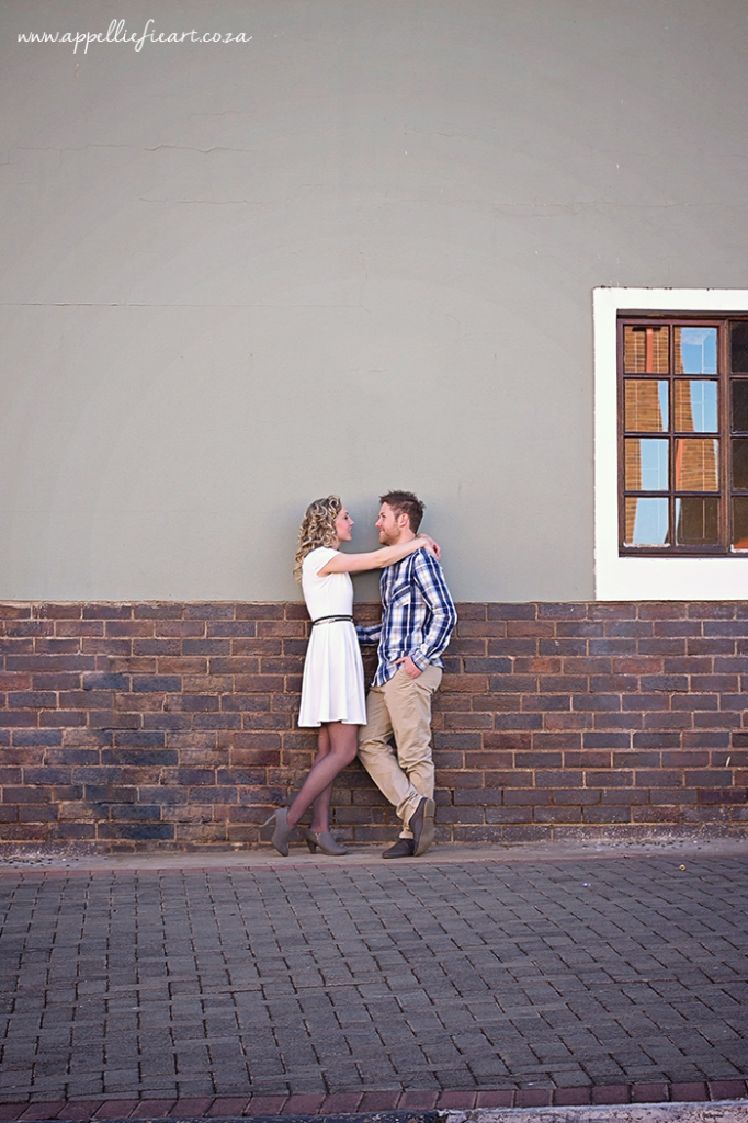 Bloemfontein city scape Engagement photography session